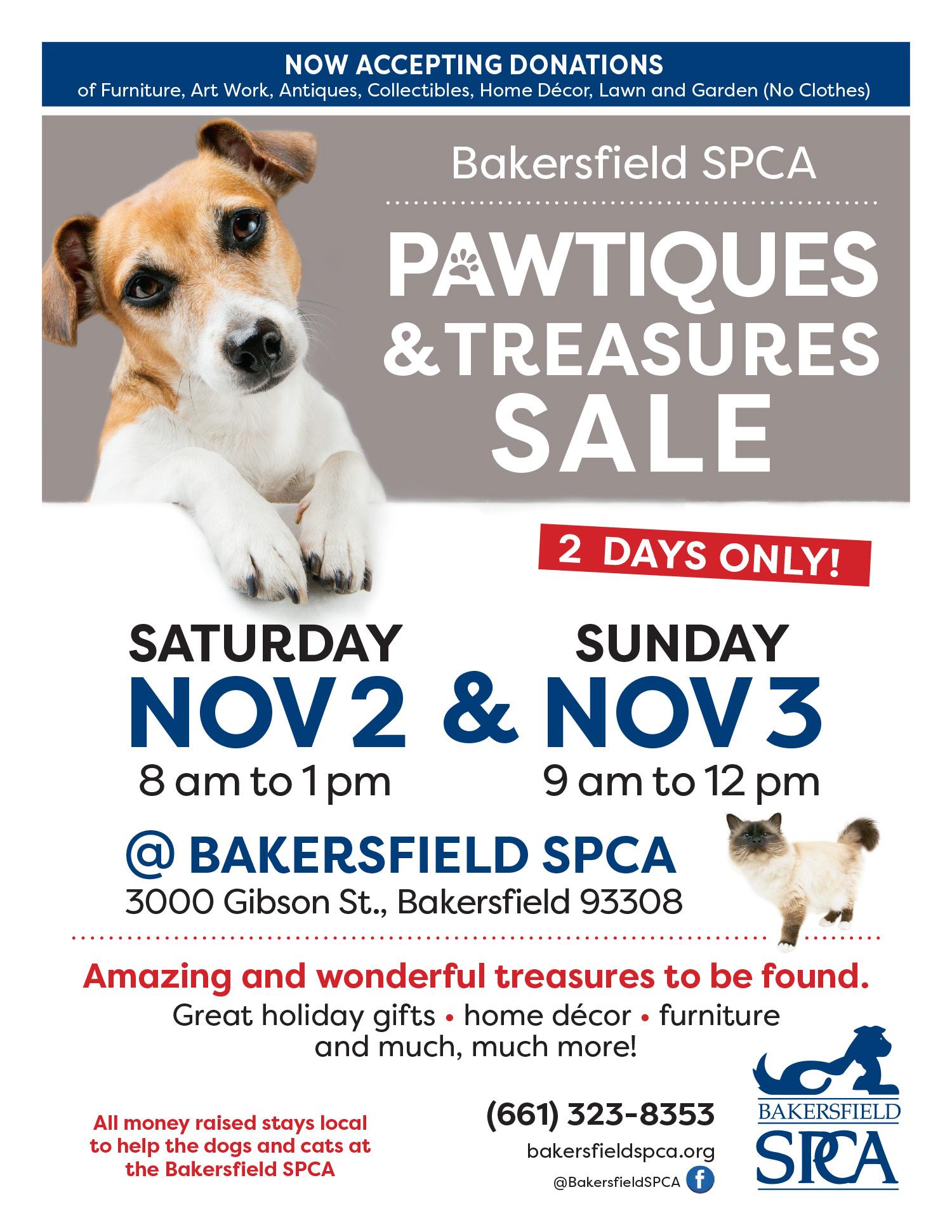 Bakersfield SPCA Pawtiques Sale