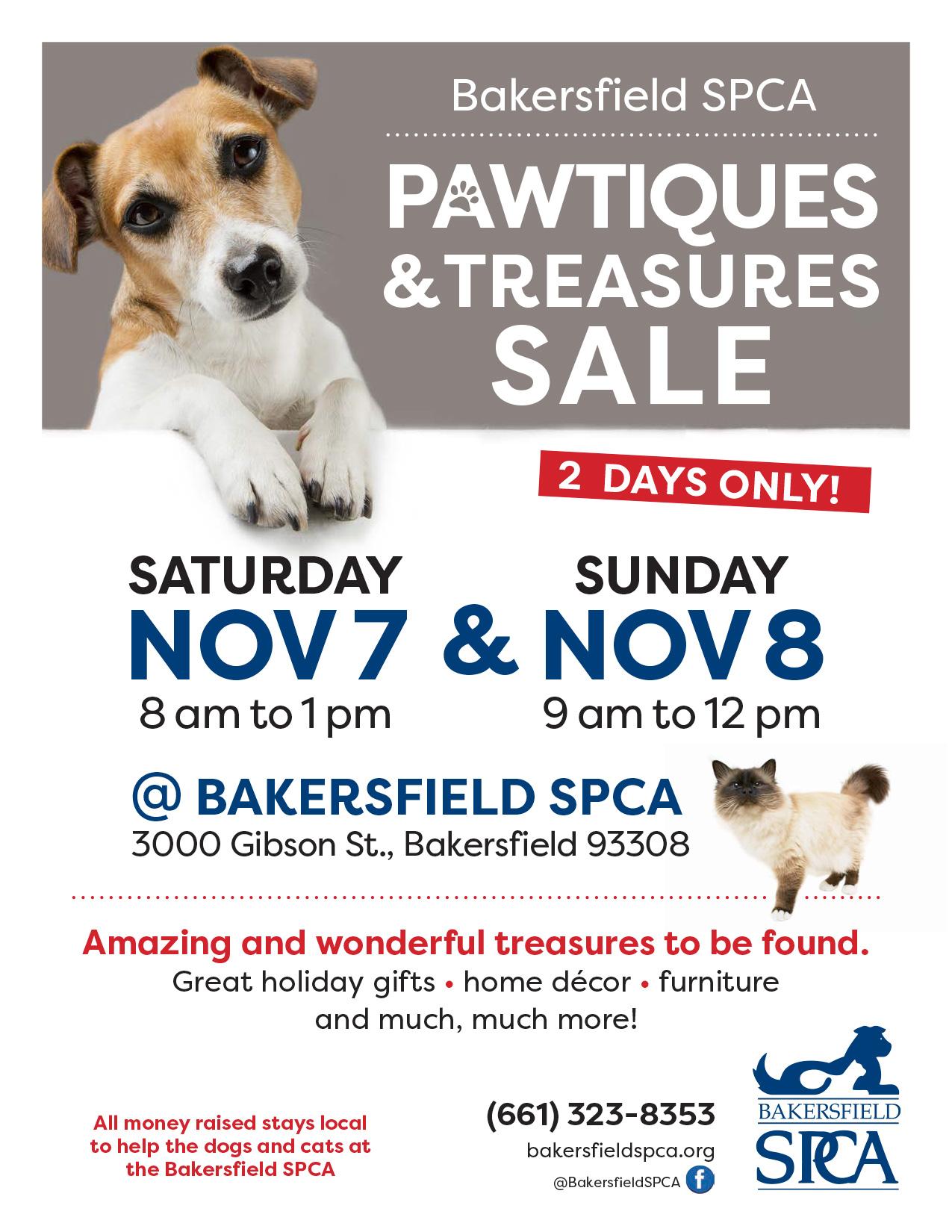 Bakersfield SPCA Yard Sale 2020
